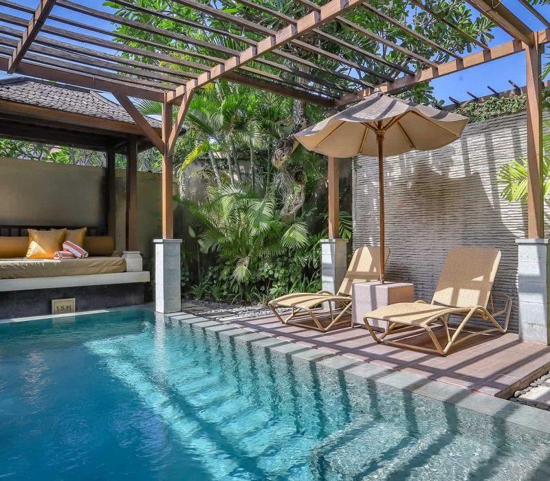 luxury outdoor pool